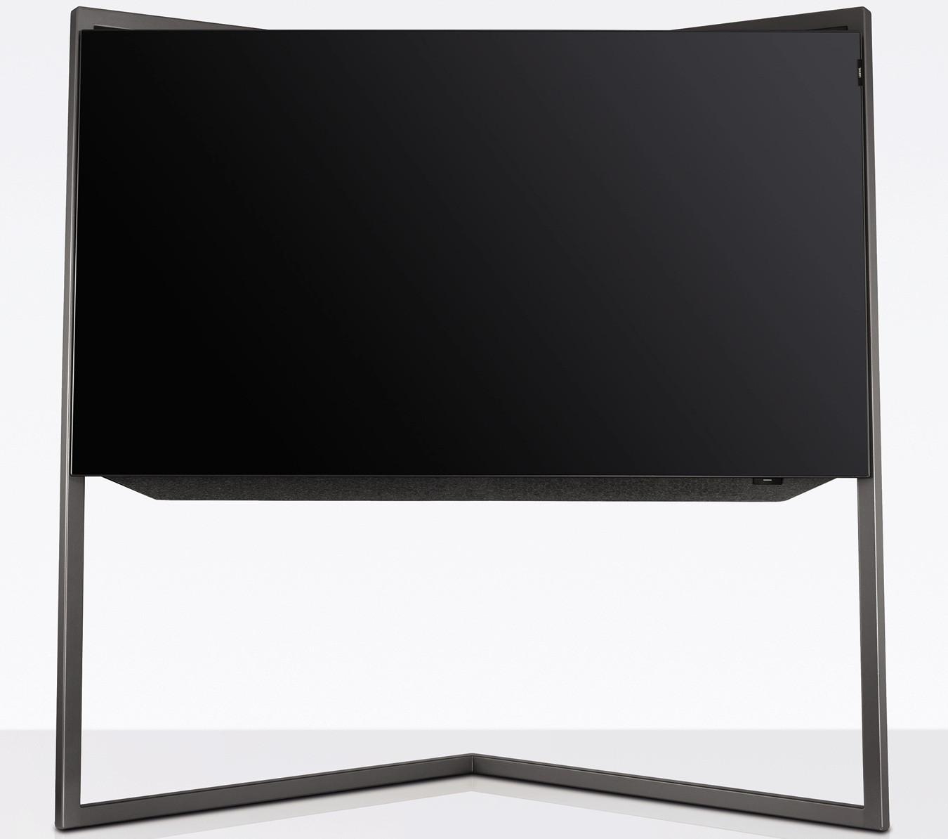 loewe bild mit floorstand graphitgrau loewe fernseher. Black Bedroom Furniture Sets. Home Design Ideas