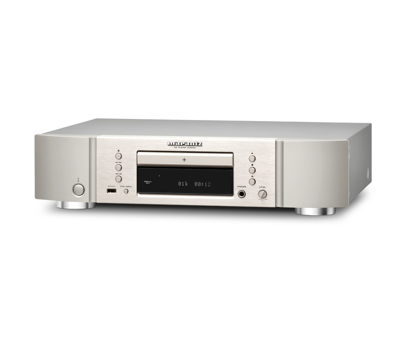 marantz cd 6006 cd player silber gold cd player. Black Bedroom Furniture Sets. Home Design Ideas