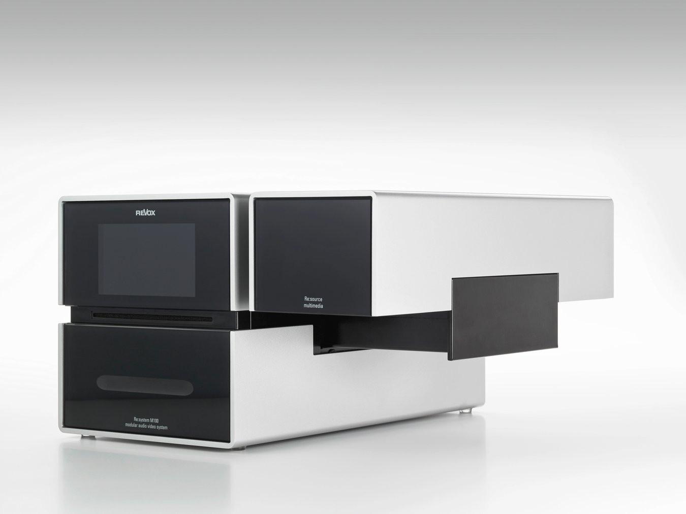 revox m100 multiroom 4 zone modul weiss. Black Bedroom Furniture Sets. Home Design Ideas