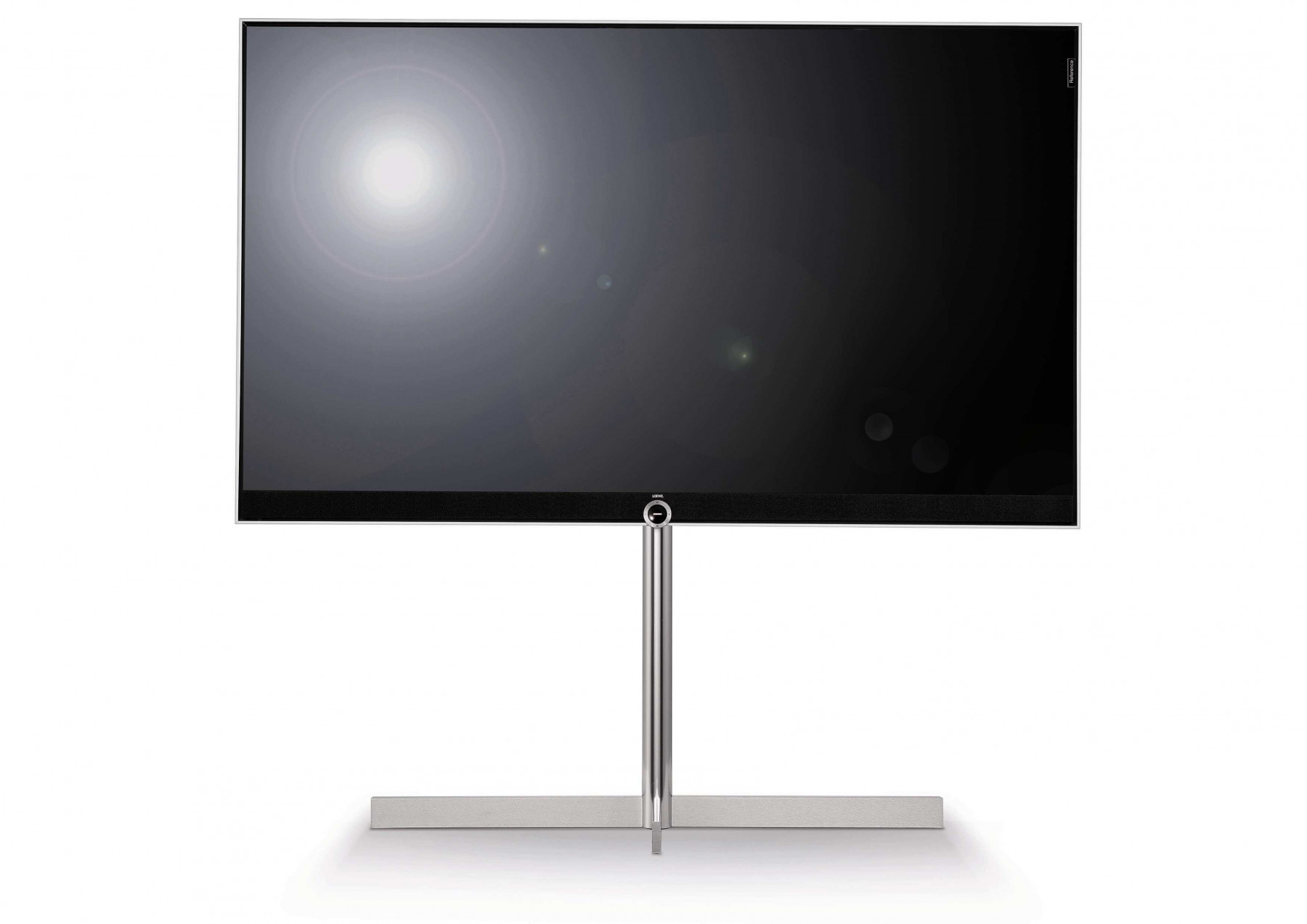 loewe reference 75 dr uhd silber sonderangebot demo ger t loewe fernseher. Black Bedroom Furniture Sets. Home Design Ideas