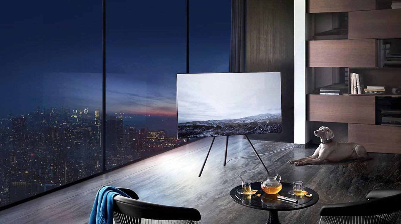 Samsung The Frame Studio Stand Fernseher