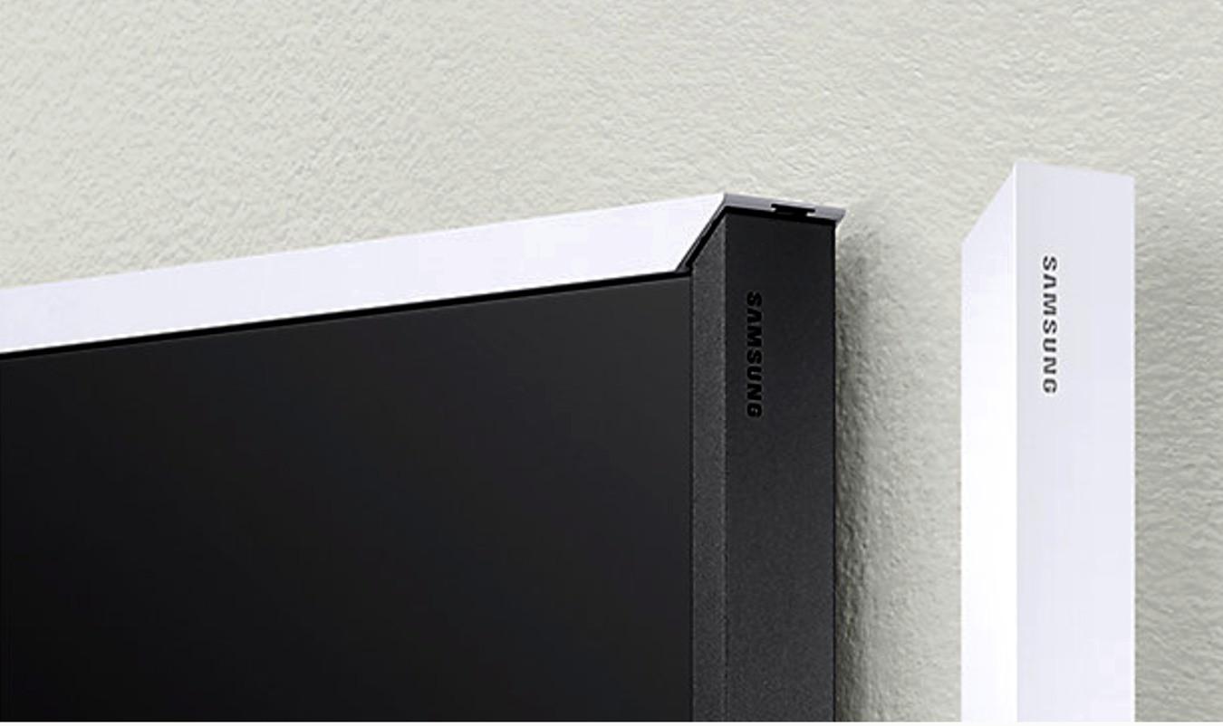 samsung the frame wechselrahmen weiss 43 samsung fernseher. Black Bedroom Furniture Sets. Home Design Ideas