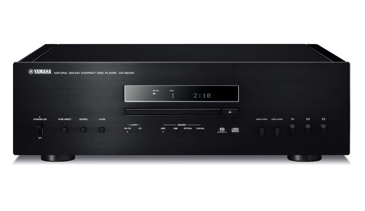 yamaha cd s2100 schwarz cd dvd player yamaha hifi. Black Bedroom Furniture Sets. Home Design Ideas