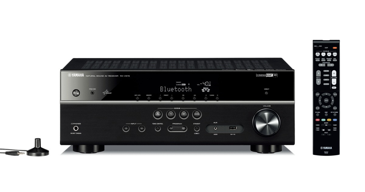 yamaha rx s601 dab schwarz av receiver yamaha hifi. Black Bedroom Furniture Sets. Home Design Ideas